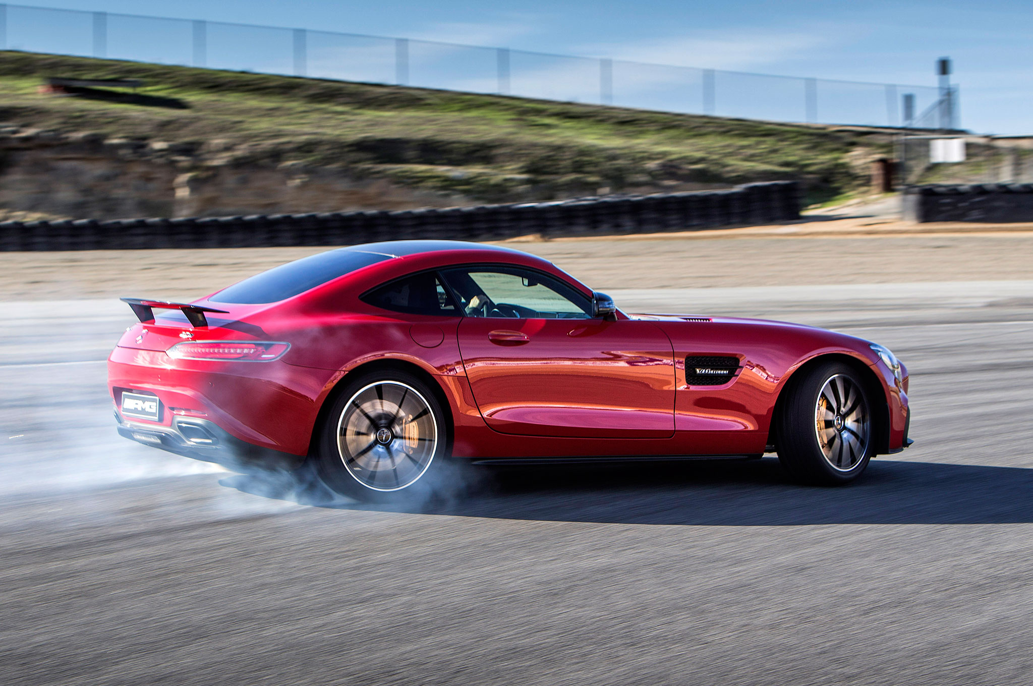 California Dreaming In The Mercedes Amg Gt