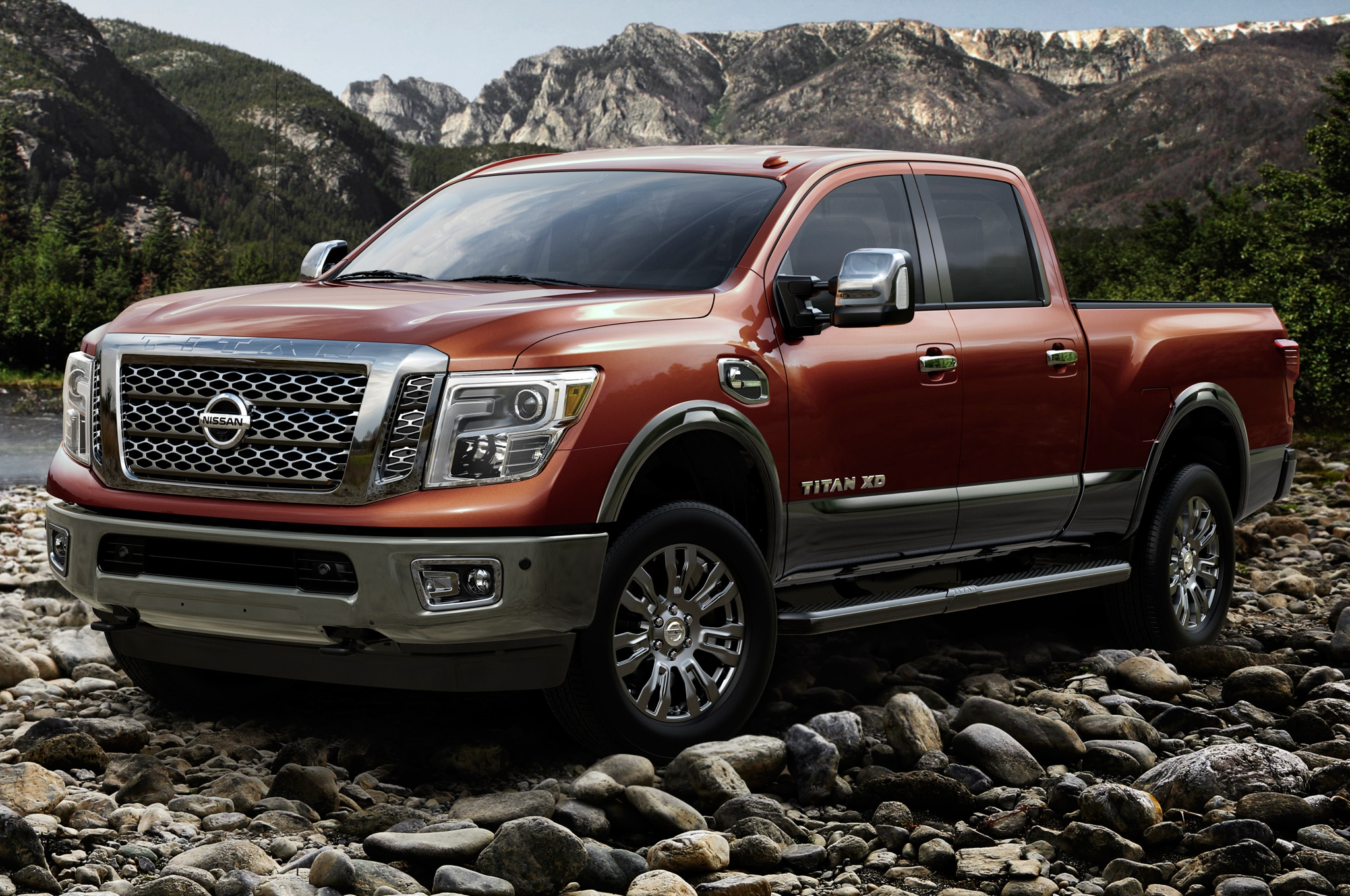 2016 Nissan Titan XD Gas V-8 Review