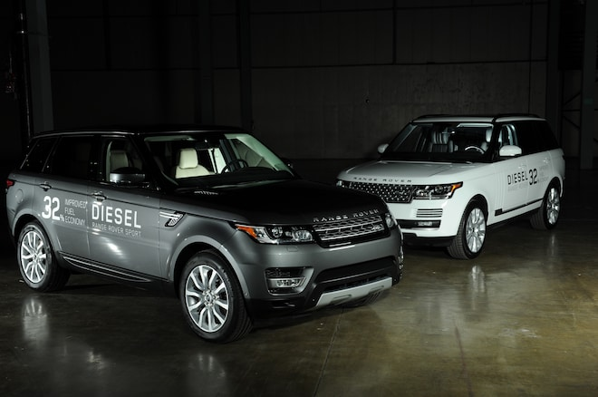 2016 Range Rover Sport HSE Td6 And 2016 Range Rover HSE Td6 Image 1