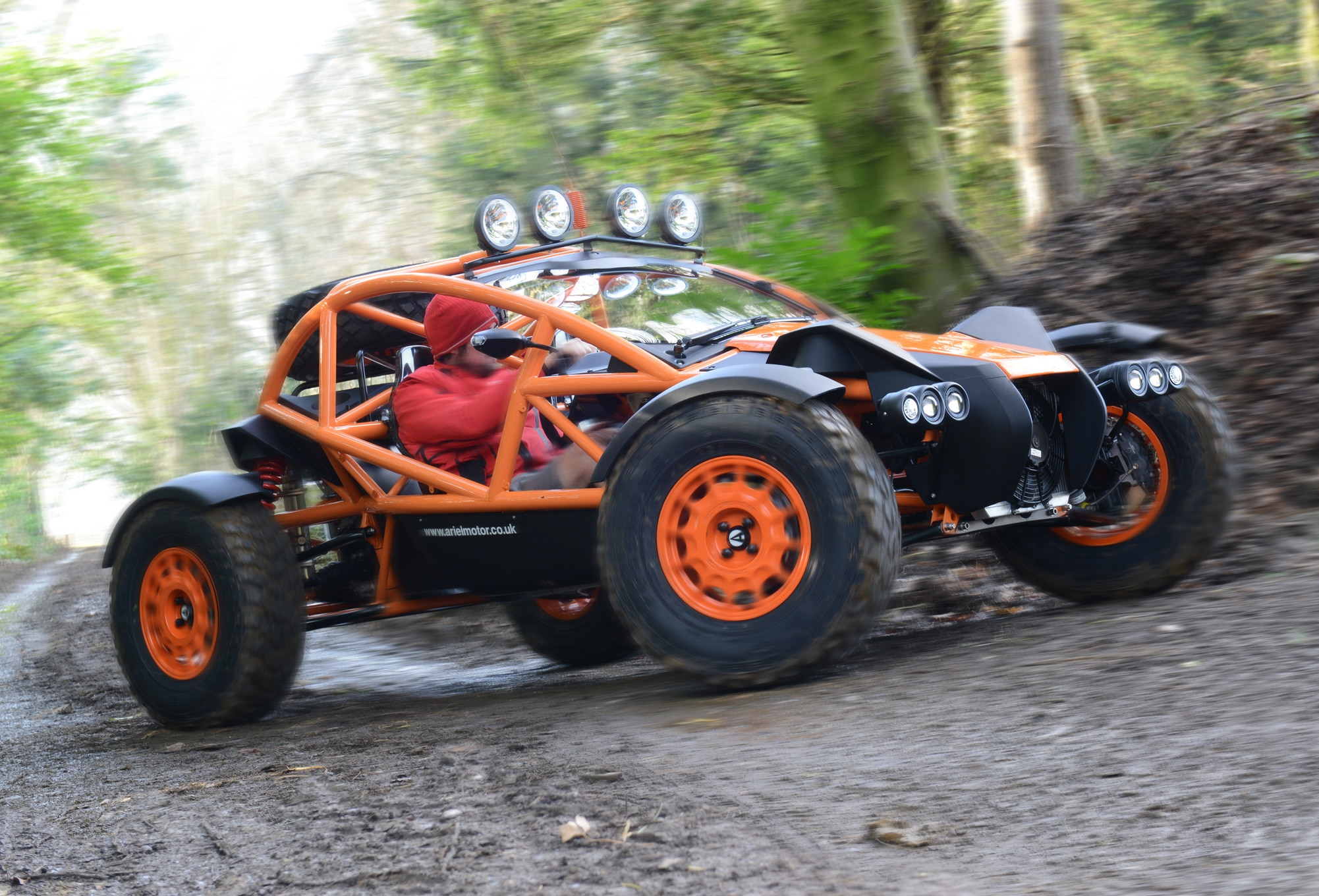 Ariel Nomad: The Off-Road Atom You Always Wanted