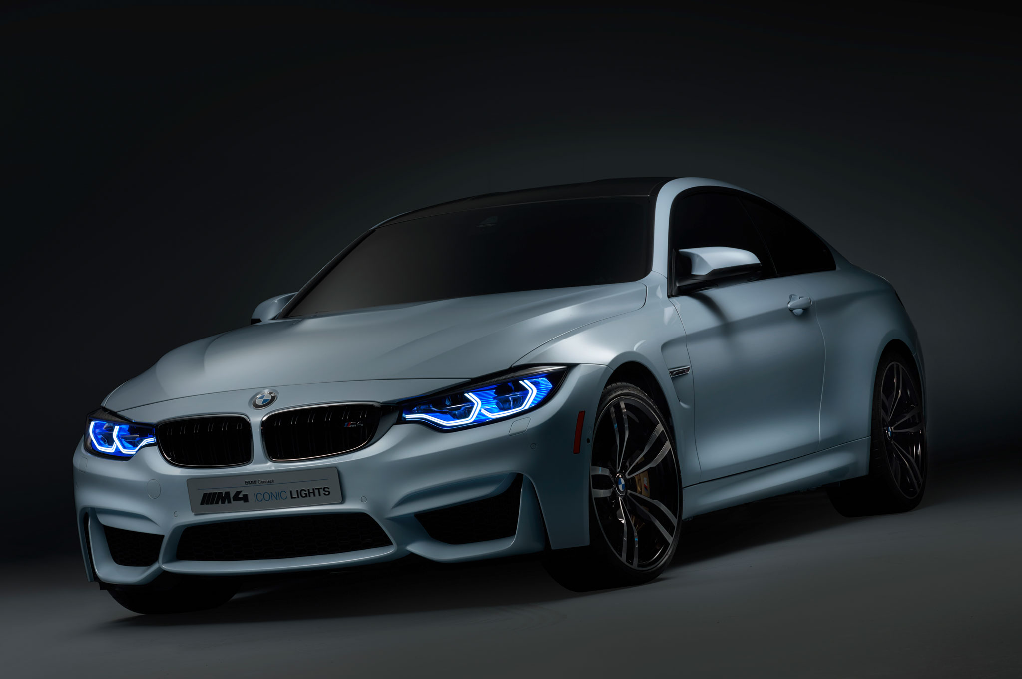 iconic lighting famous bmw m4 concept iconic lights shows laser and oled lighting at ces