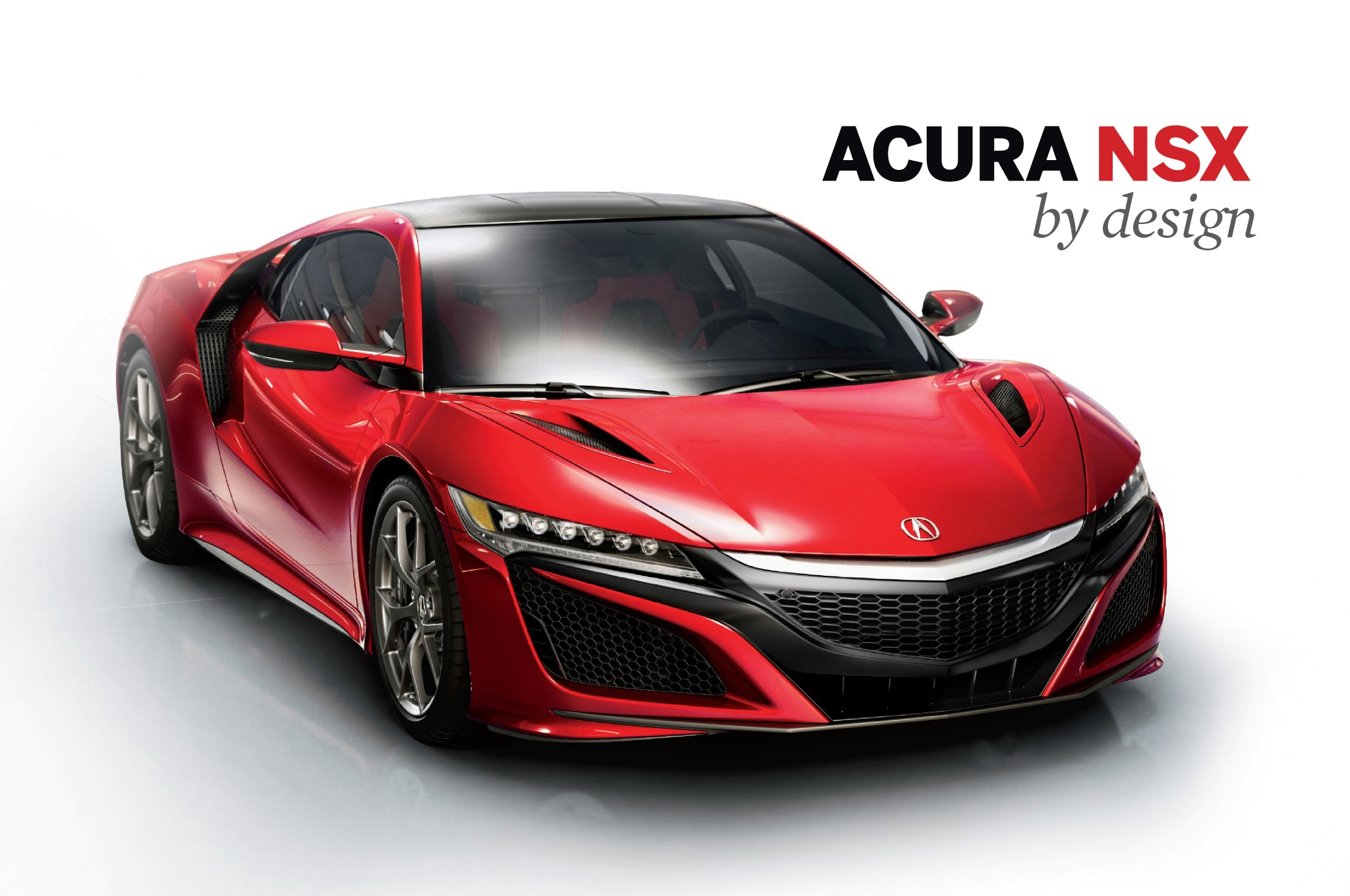 By Design Acura NSX Lead