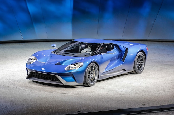 Ford GT At 2015 Detroit Auto Show Front Three Quarter 03