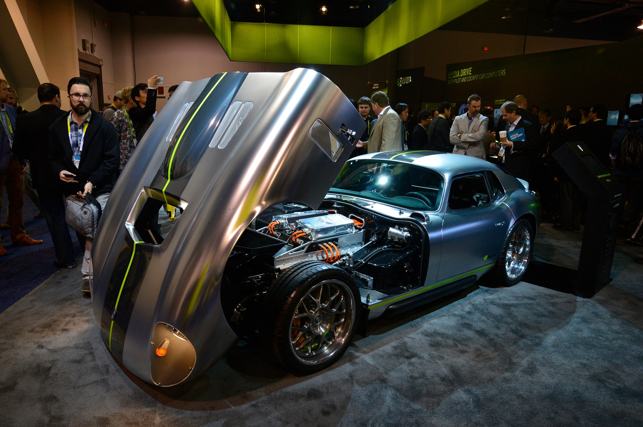 Renovo Coupe At Ces Show