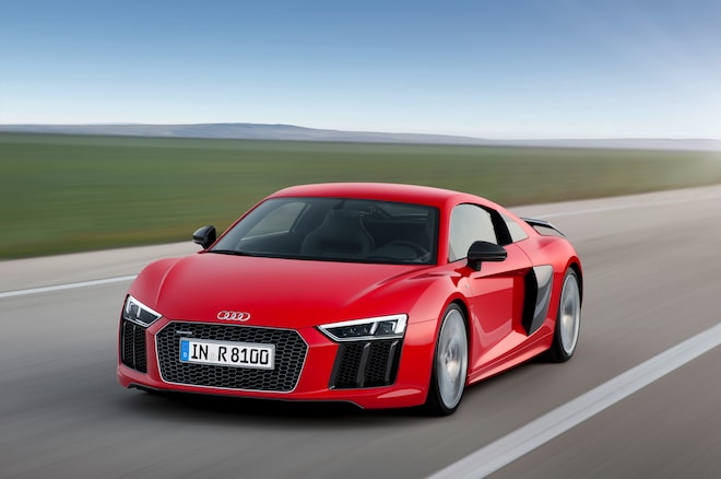 2017 Audi R8 V10 Plus Front View