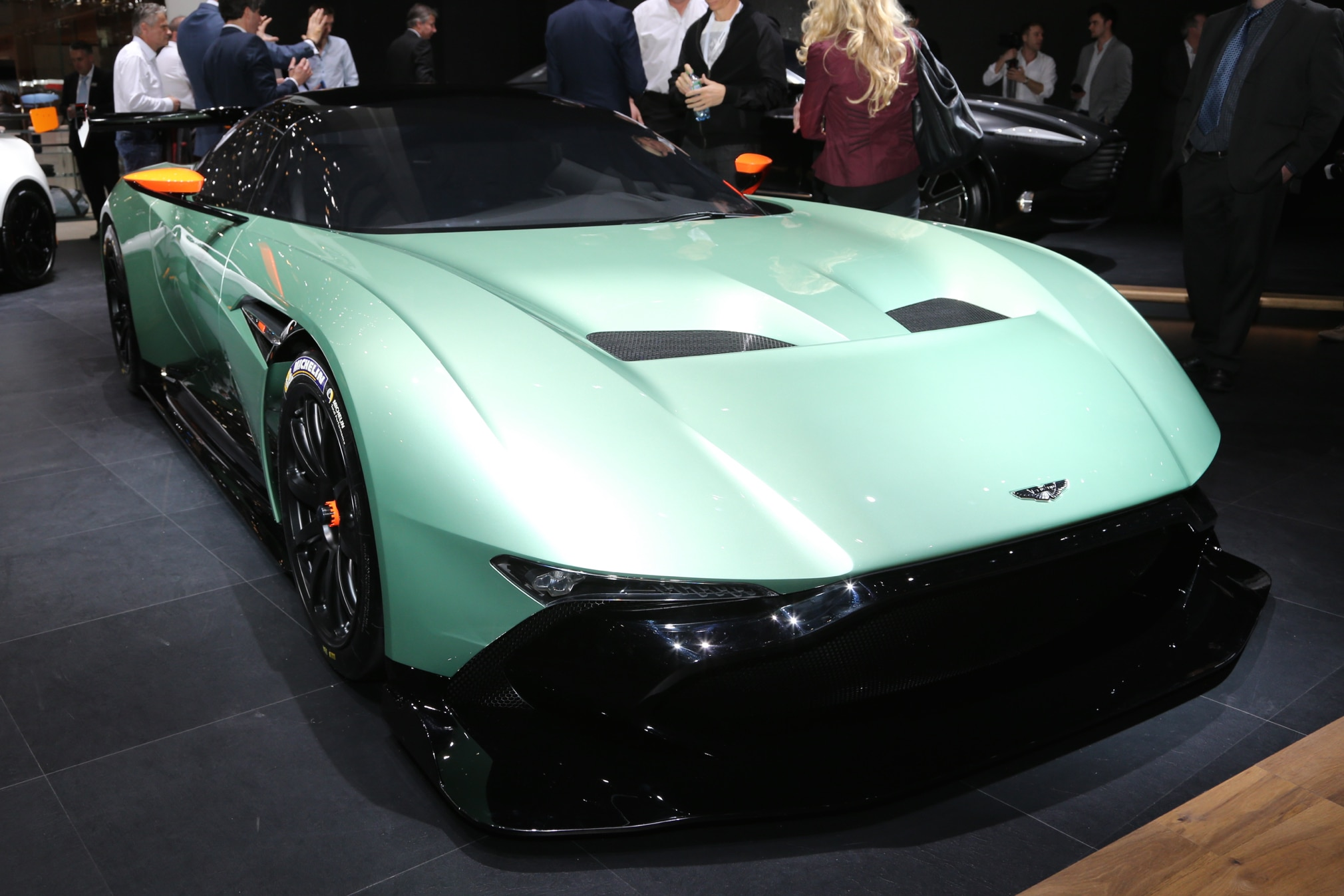 Aston Martin Vulcan Front Three Quarter