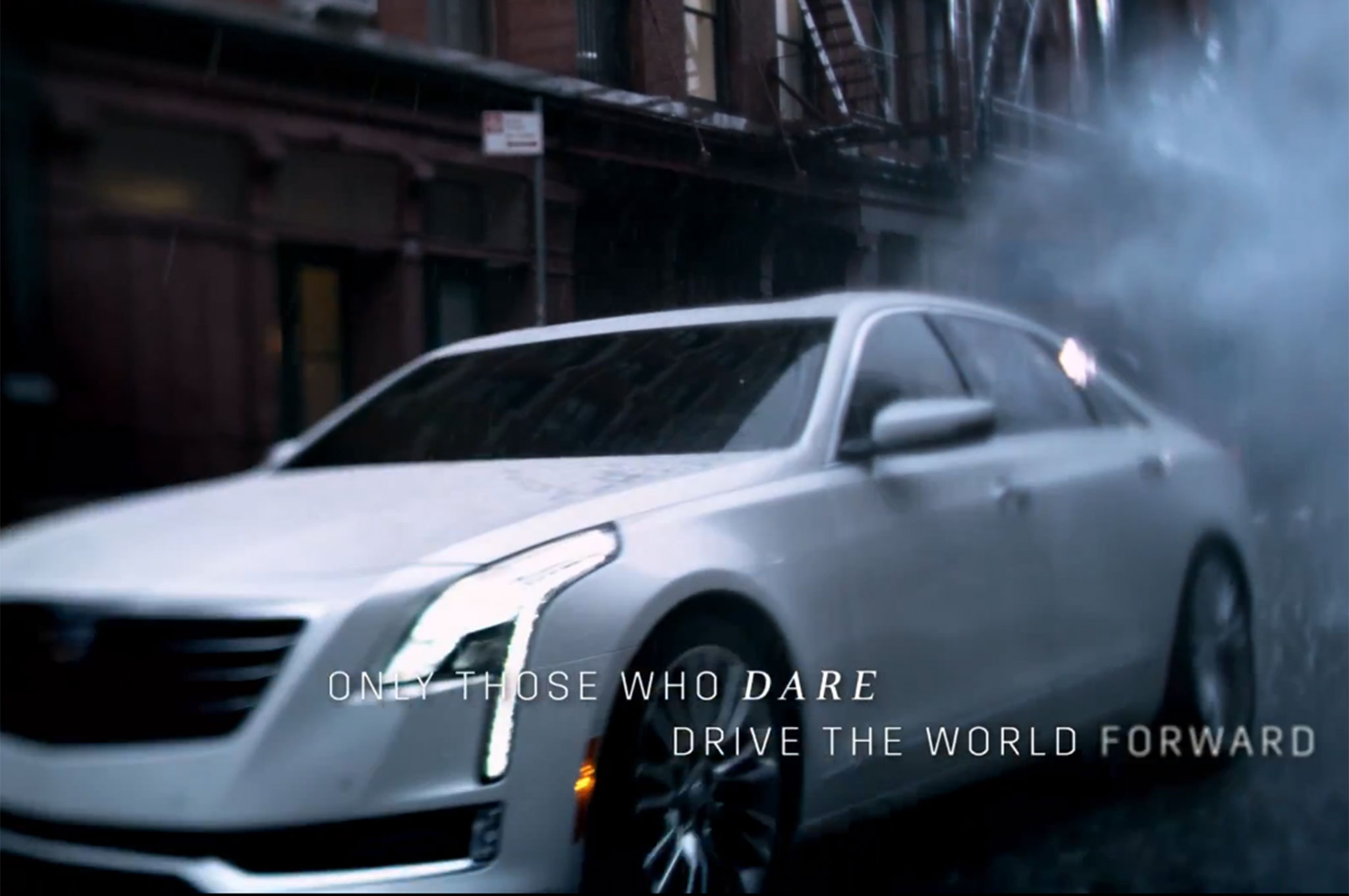 Cadillac CT6 Flagship Sedan Revealed In New Commercial