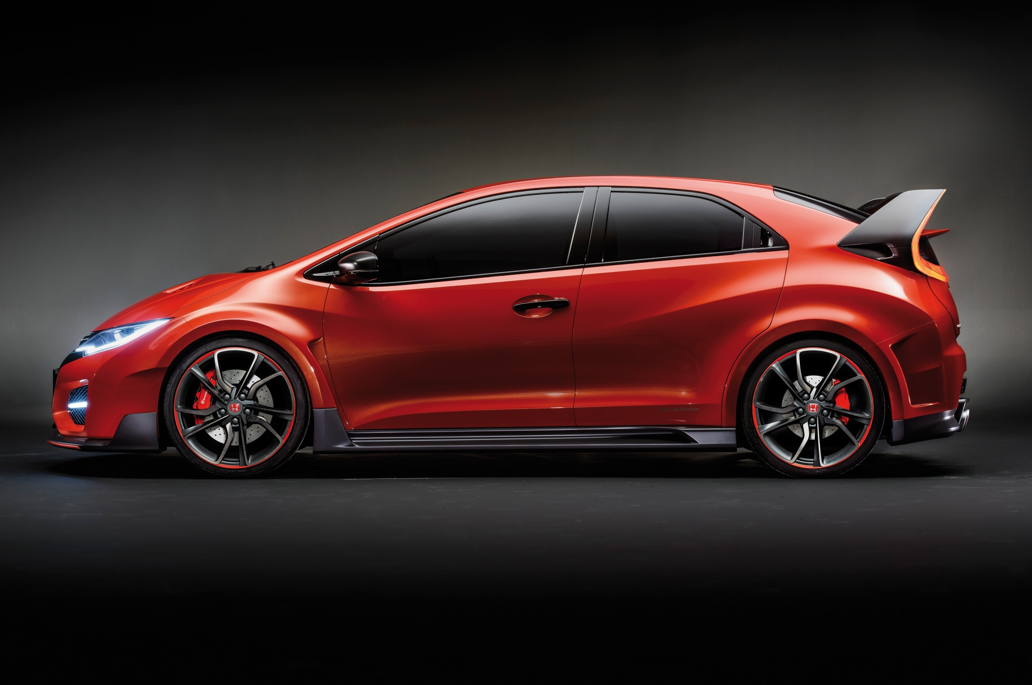 Honda Civic Type R Concept Side View