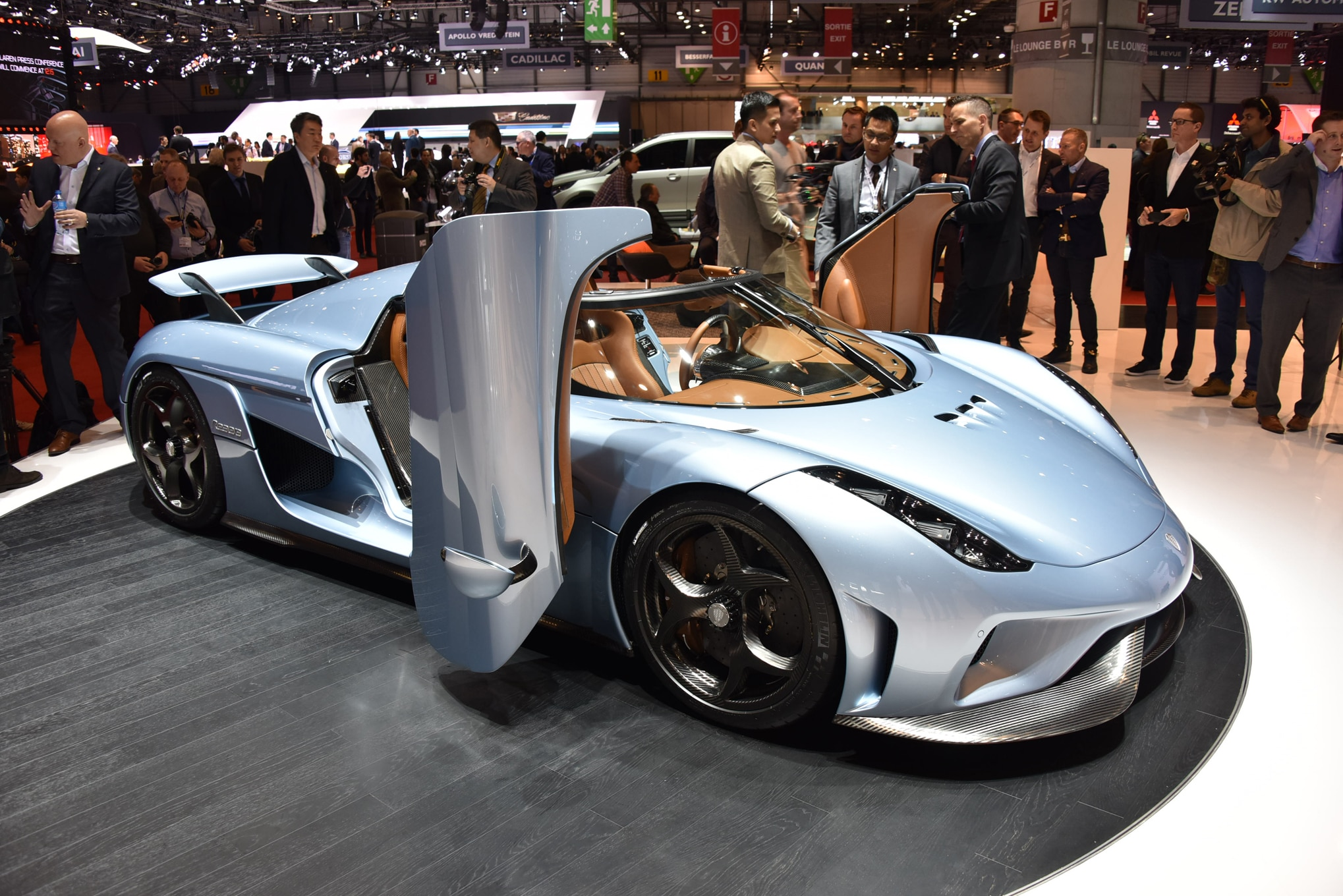 Koenigsegg Regera Front Three Quarter