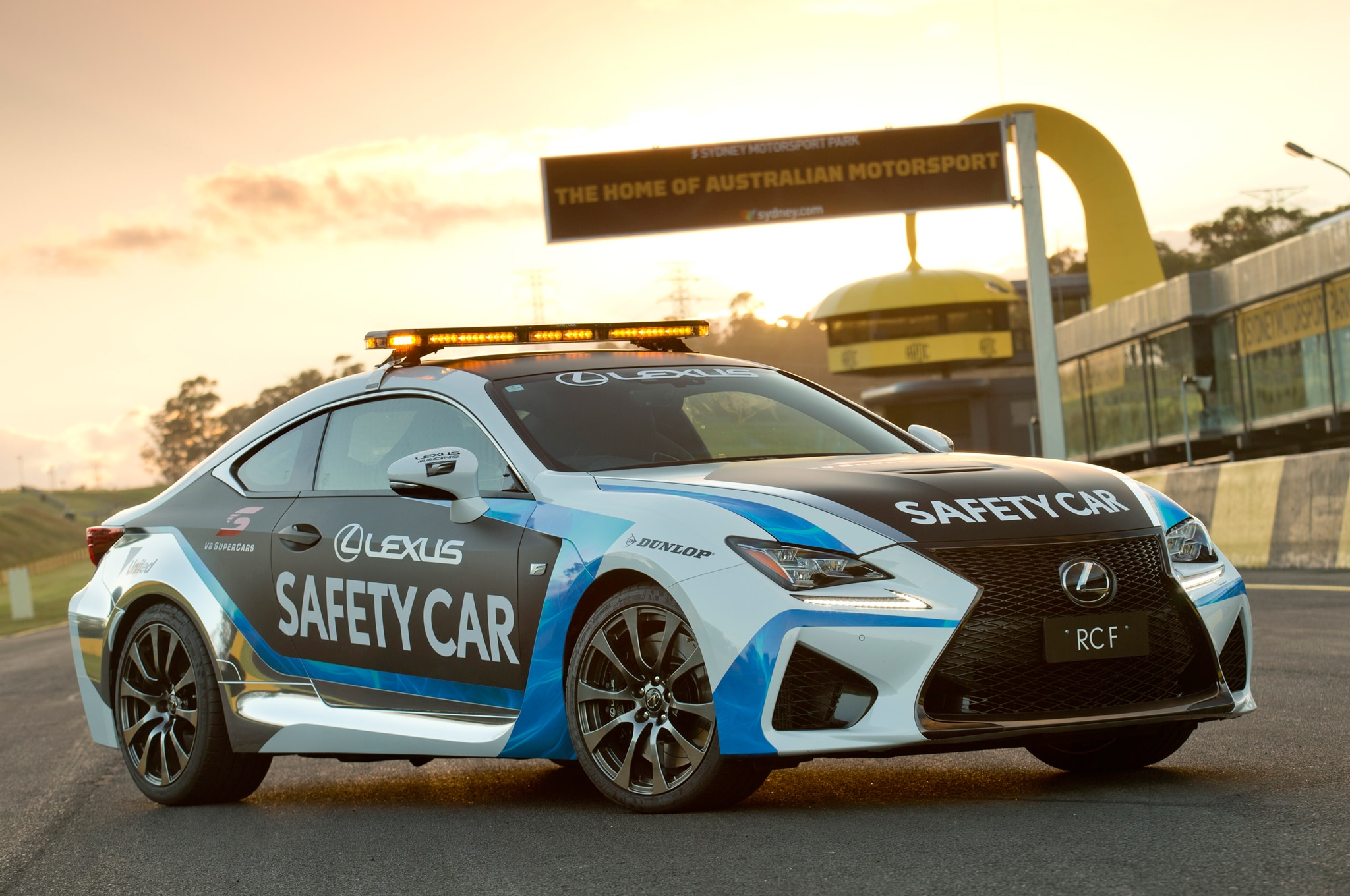 Lexus RC F Safety Car For 2015 V8 Supercars 08
