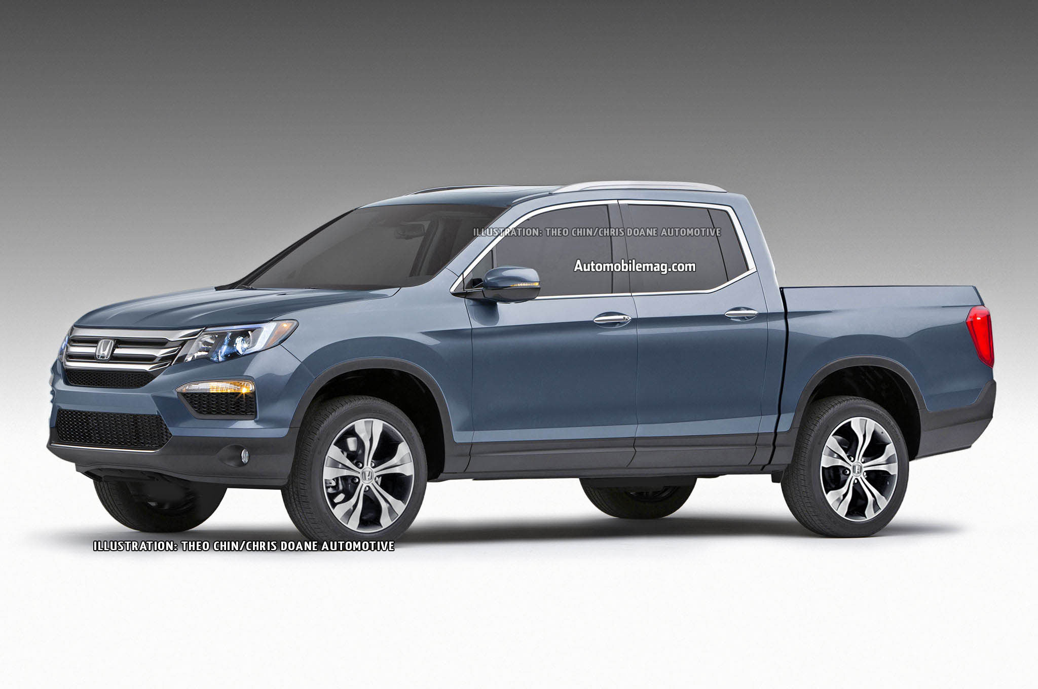 2016 Honda Ridgeline Previewed in Renderings
