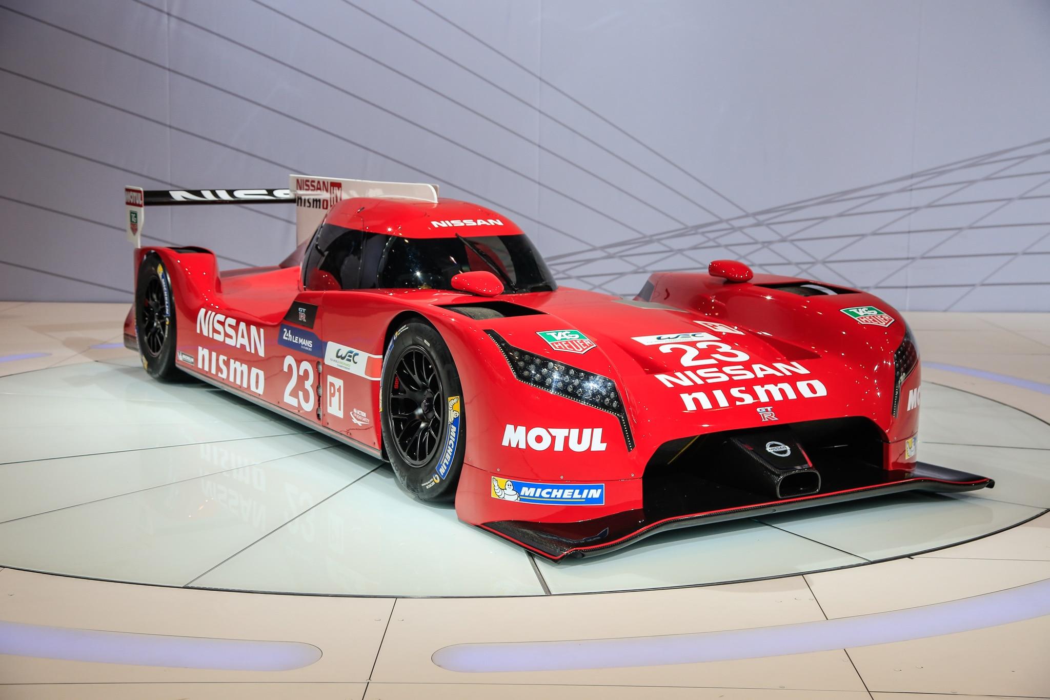 Nissan GT R LM Nismo Prototype Racecar Front Three Quarter1