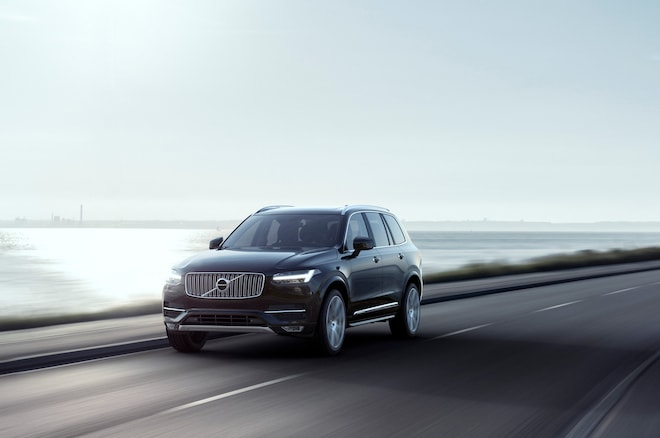 Volvo Autonomous Driving Technology All New Volvo XC90