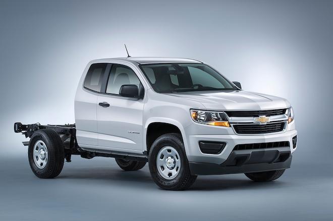 2015 Chevrolet Colorado Adds Box Delete Seat Delete Options