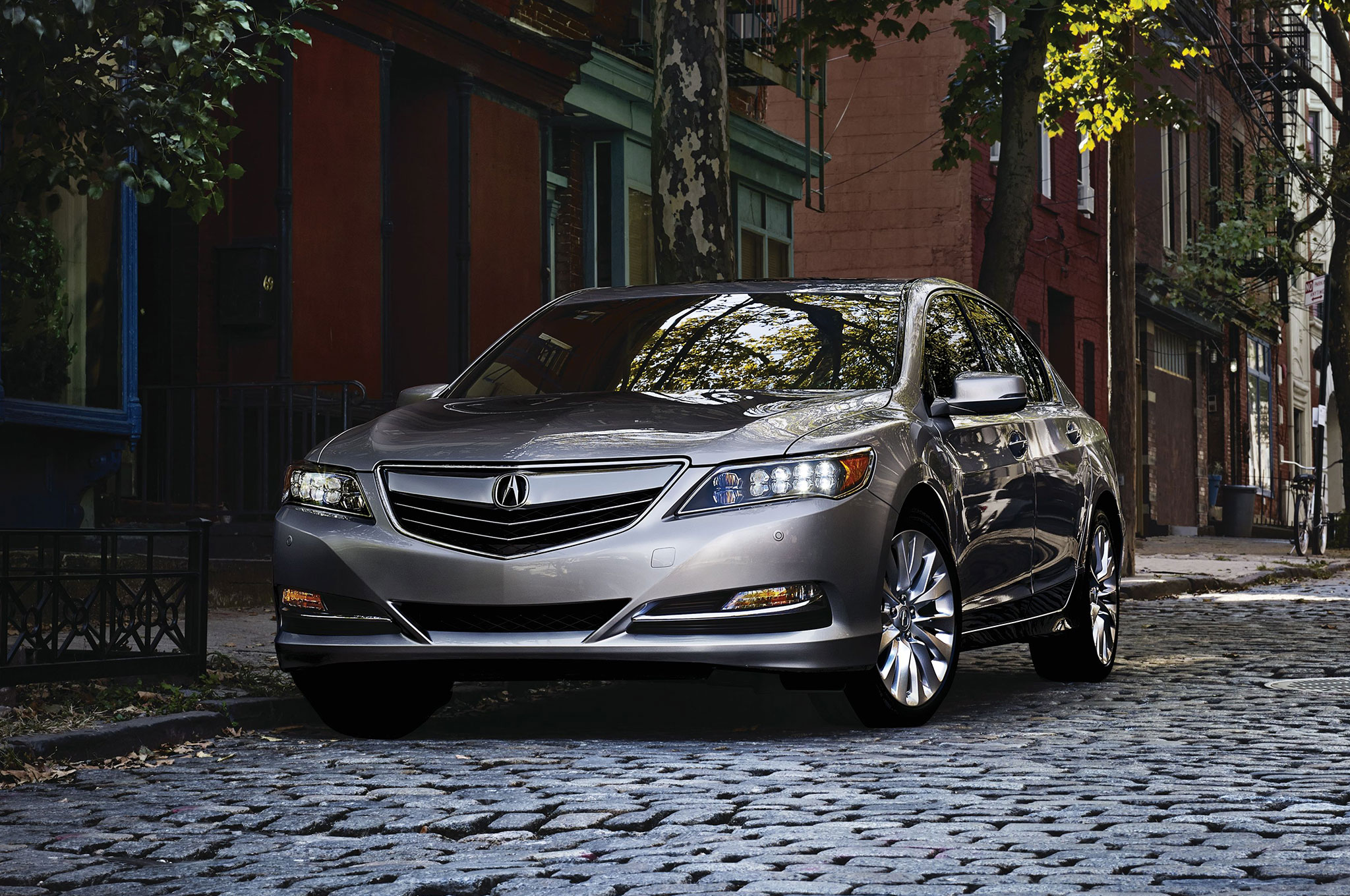 2016 Acura RLX Front Three Quarter Static
