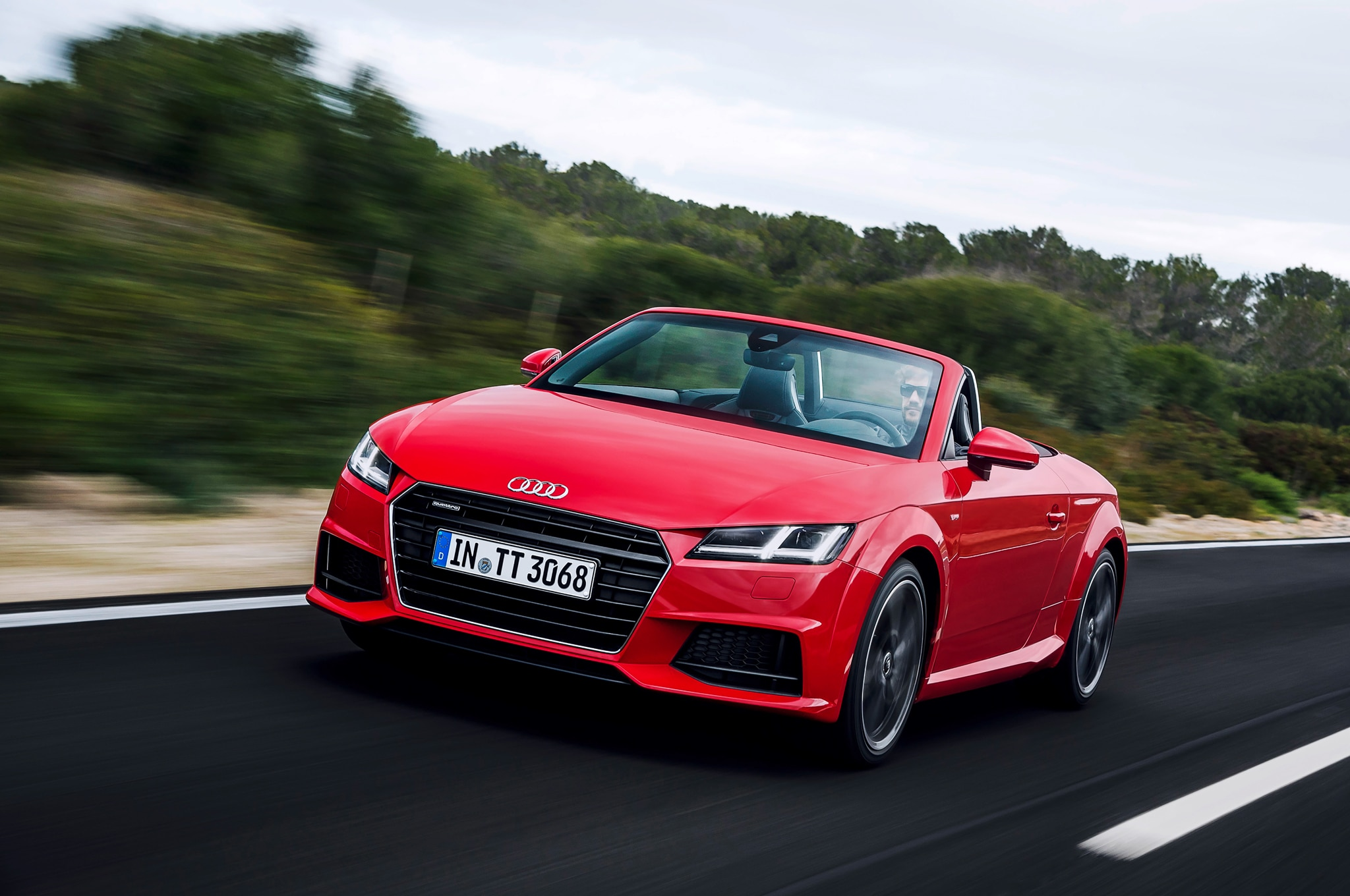 2016 Audi TT/TTS Roadster Specifications