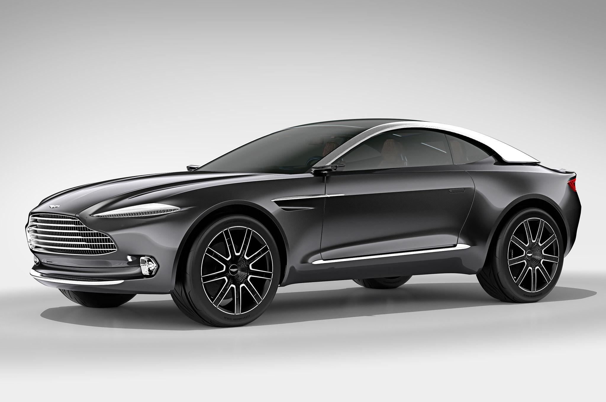 Aston Martin DBX Concept Front Three Quarter Studio