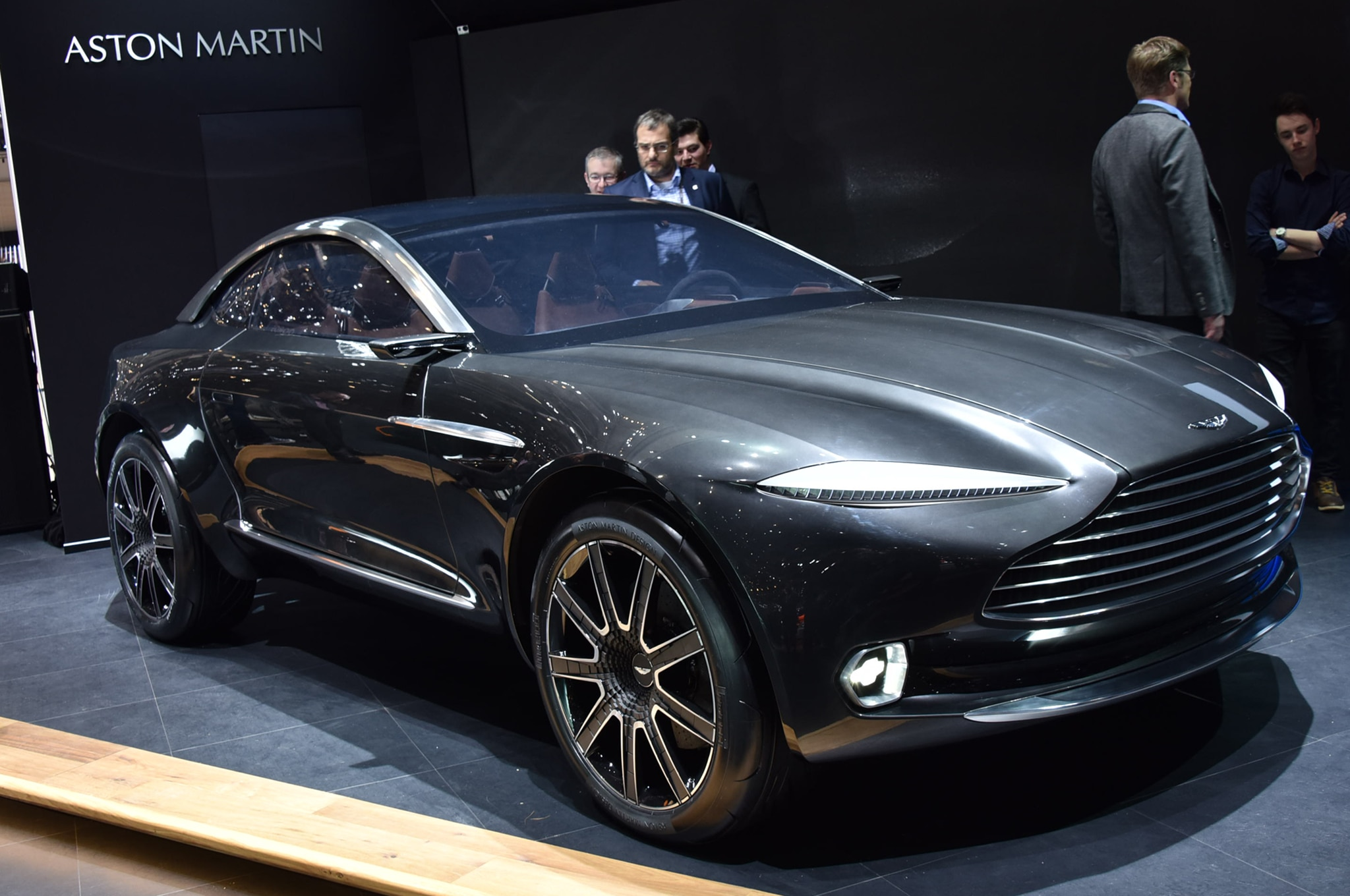 Aston Martin DBX Concept Challenges Brand Traditions In Geneva