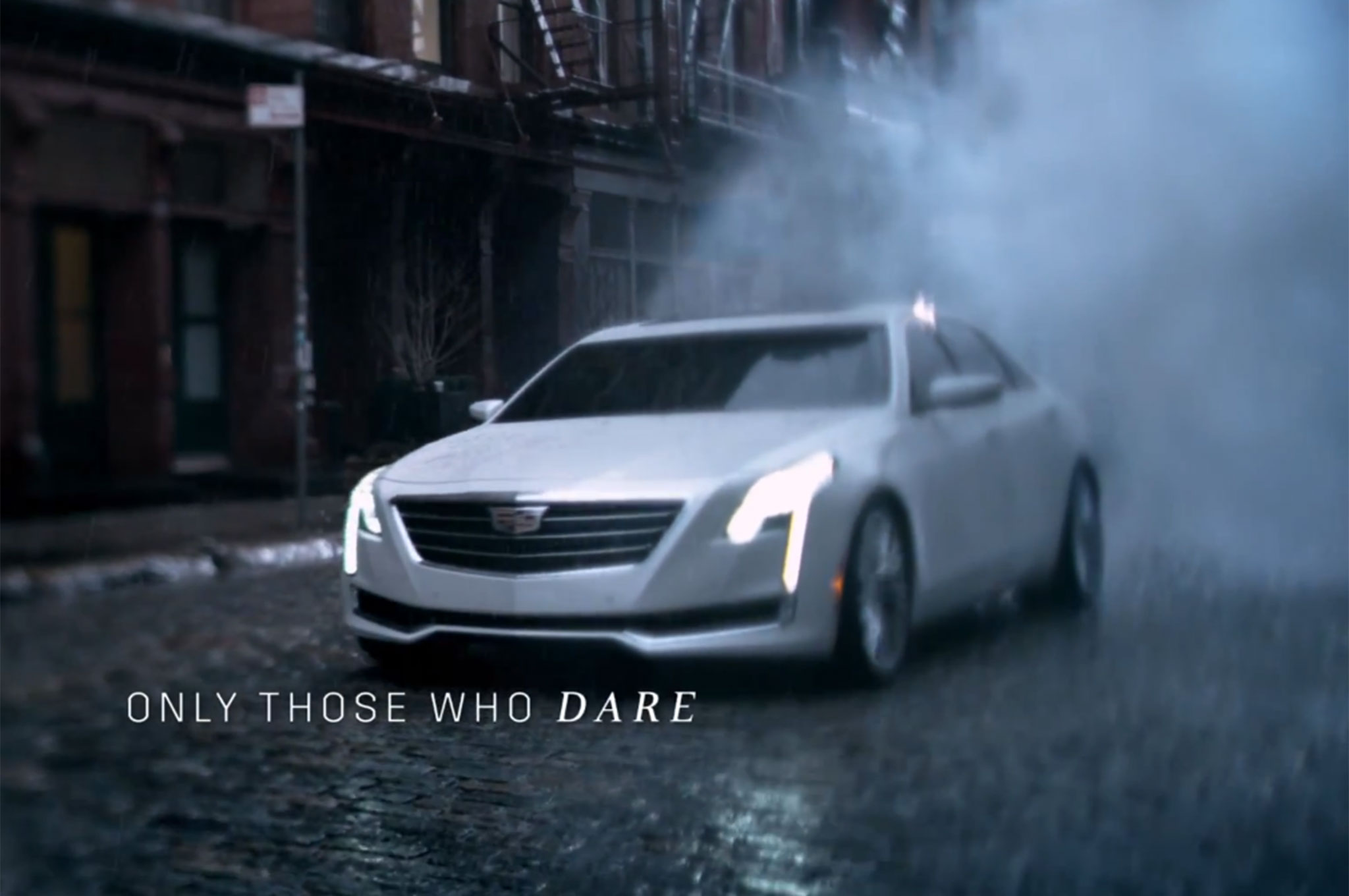 Cadillac CT6 No Regrets Commercial Front Three Quarter1