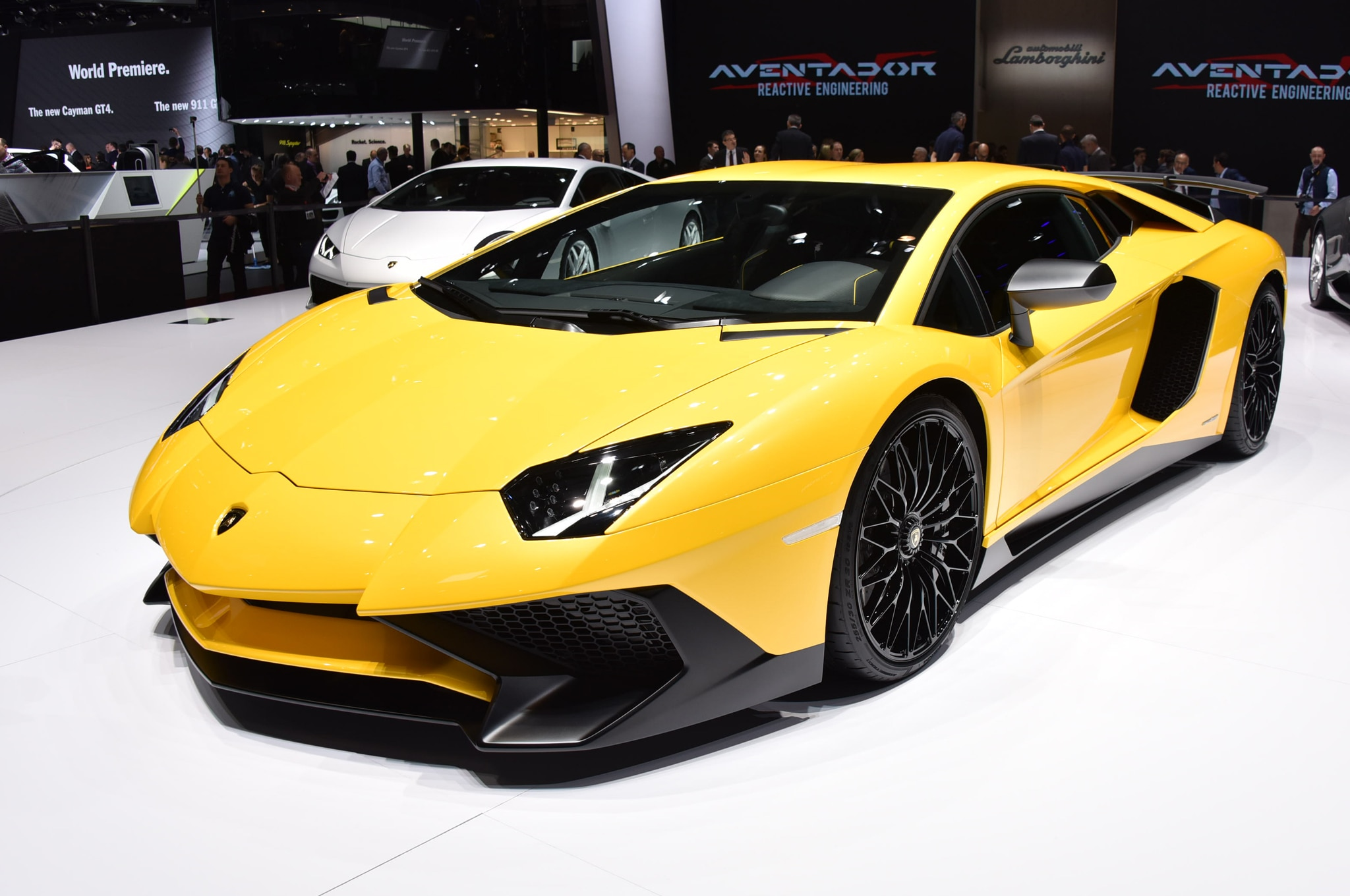 2016 Lamborghini Aventador Lp750 4 Sv Starts At 493 095 In The U S