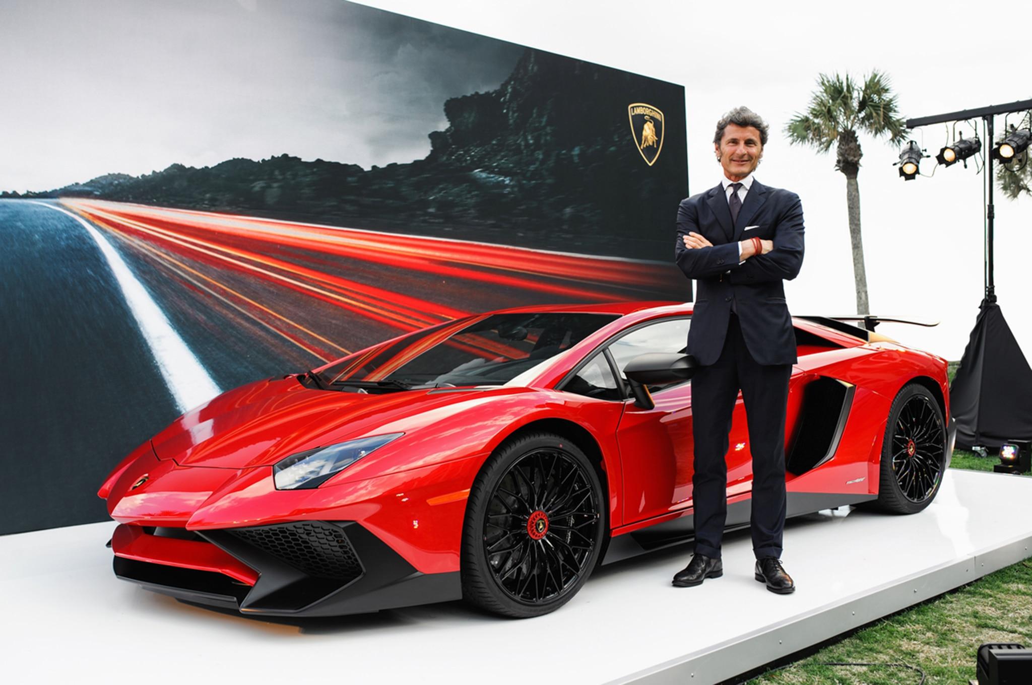 Lamborghini LP750 4 SV US Debut