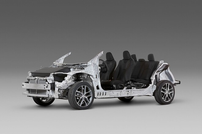 Toyota Modular Platform 1