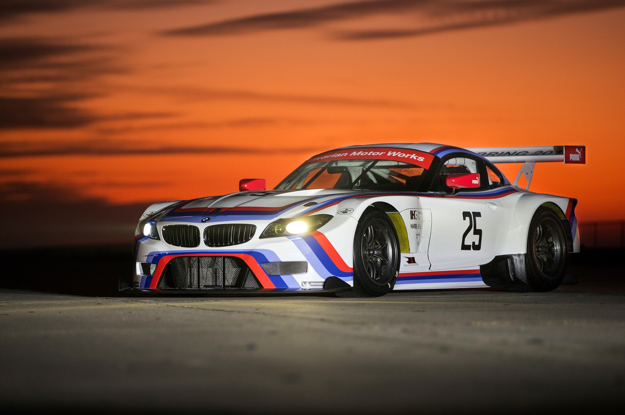 Bmw Unveils Historic Livery For Sebring Bound Z4 Gtlm Racers