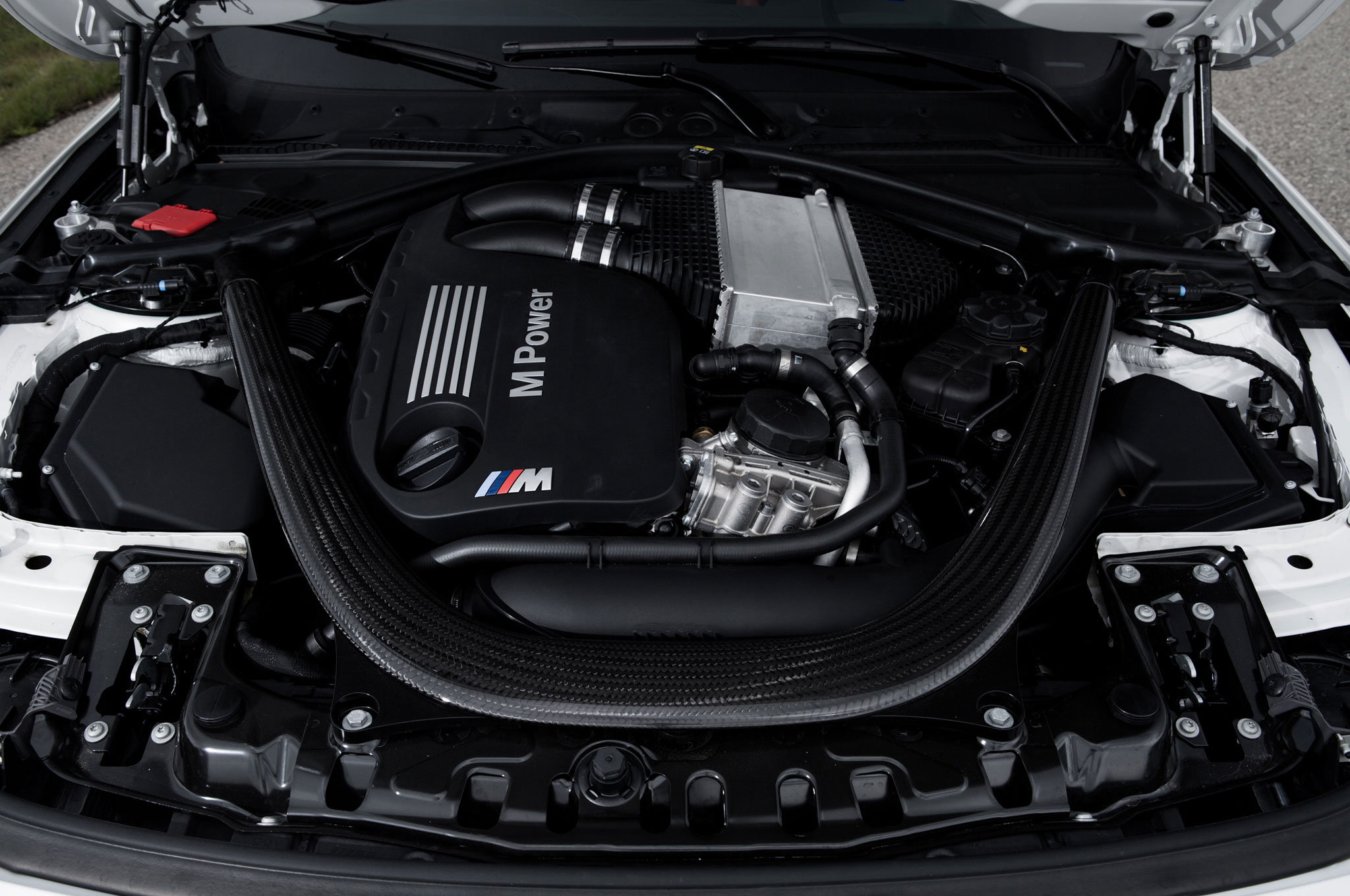 BMW M3 3.0-liter twin-turbo inline-six