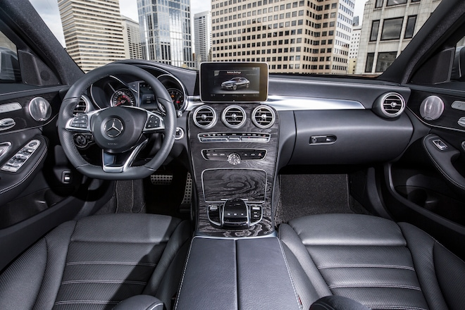 2015 Mercedes Benz C300 4Matic Interior View1