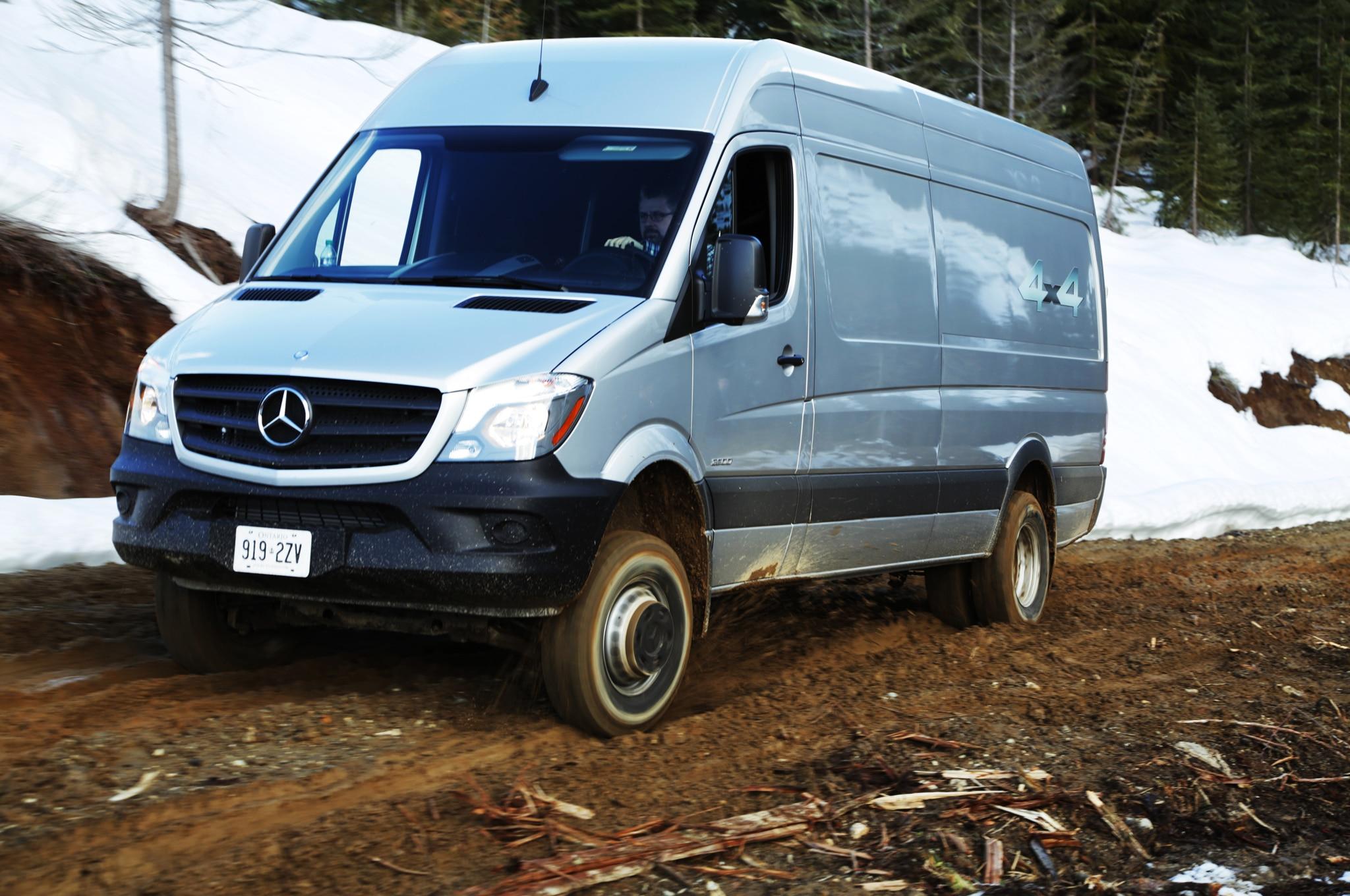 2015 Mercedes-Benz Sprinter 4x4 Review