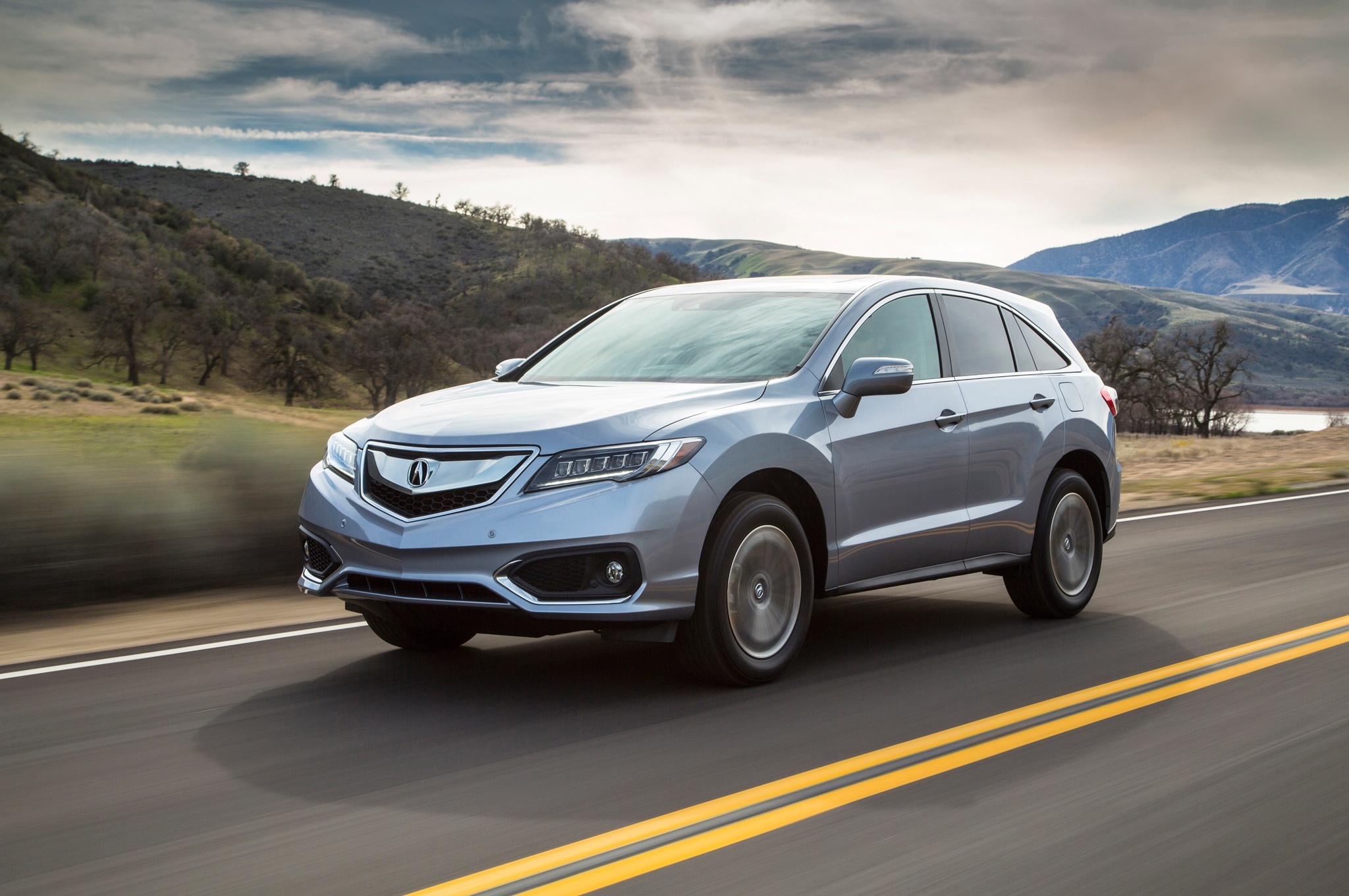 2016 Acura RDX Front Three Quarter In Motion