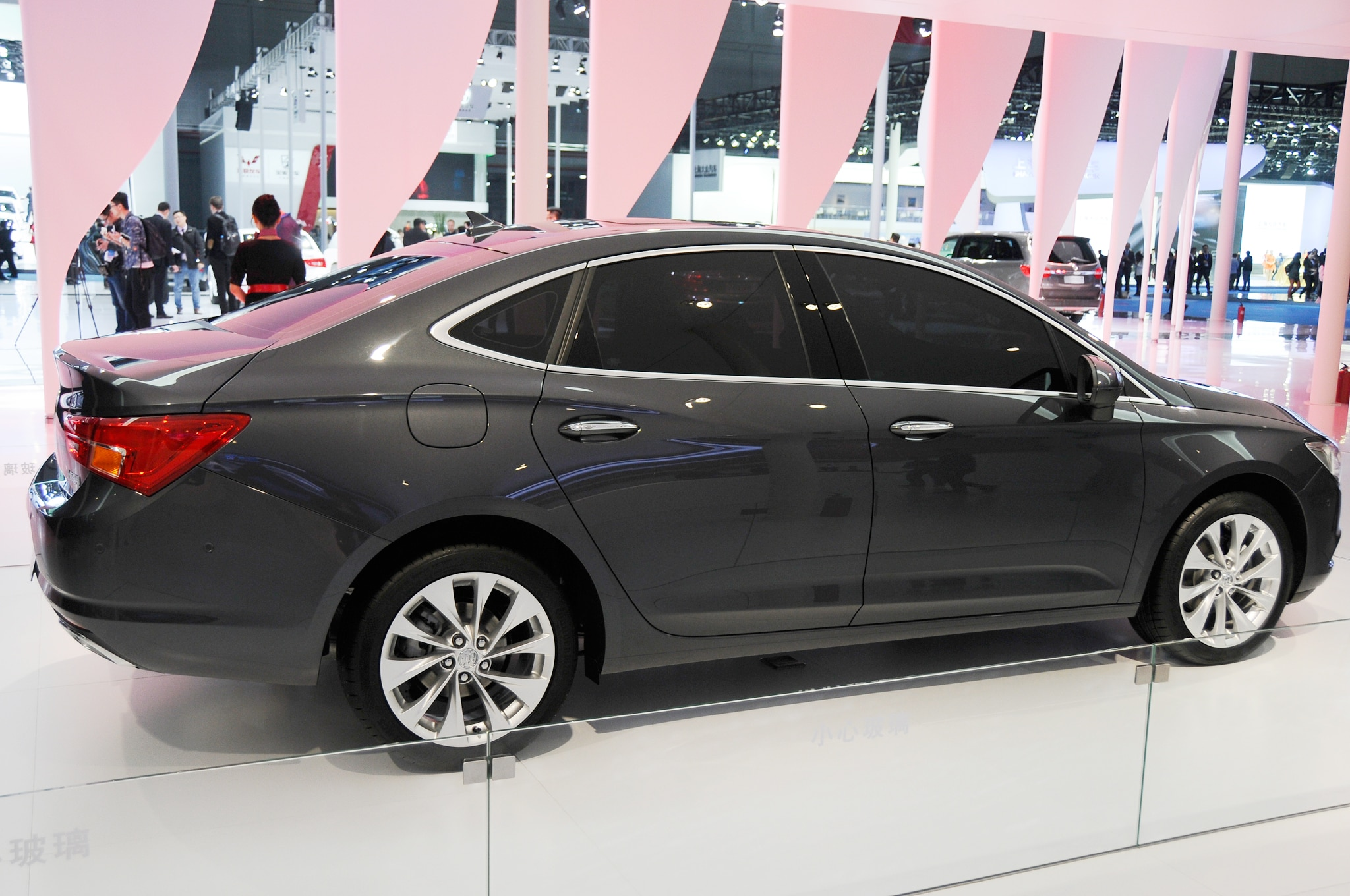 2016 Buick Verano Debuts in Chinese-Market Form in Shanghai