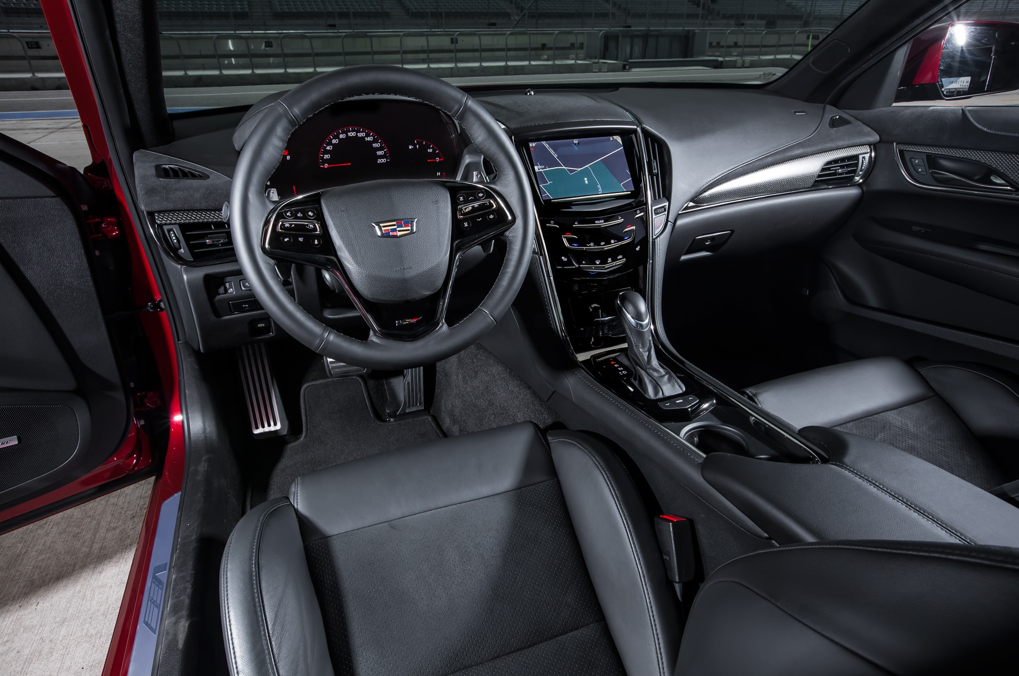 2016 Cadillac ATS-V interior