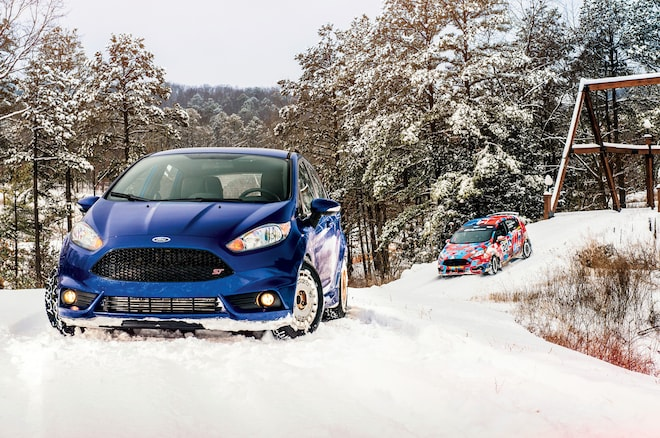 Fiesta ST At The 100 Acre Wood Rally 01