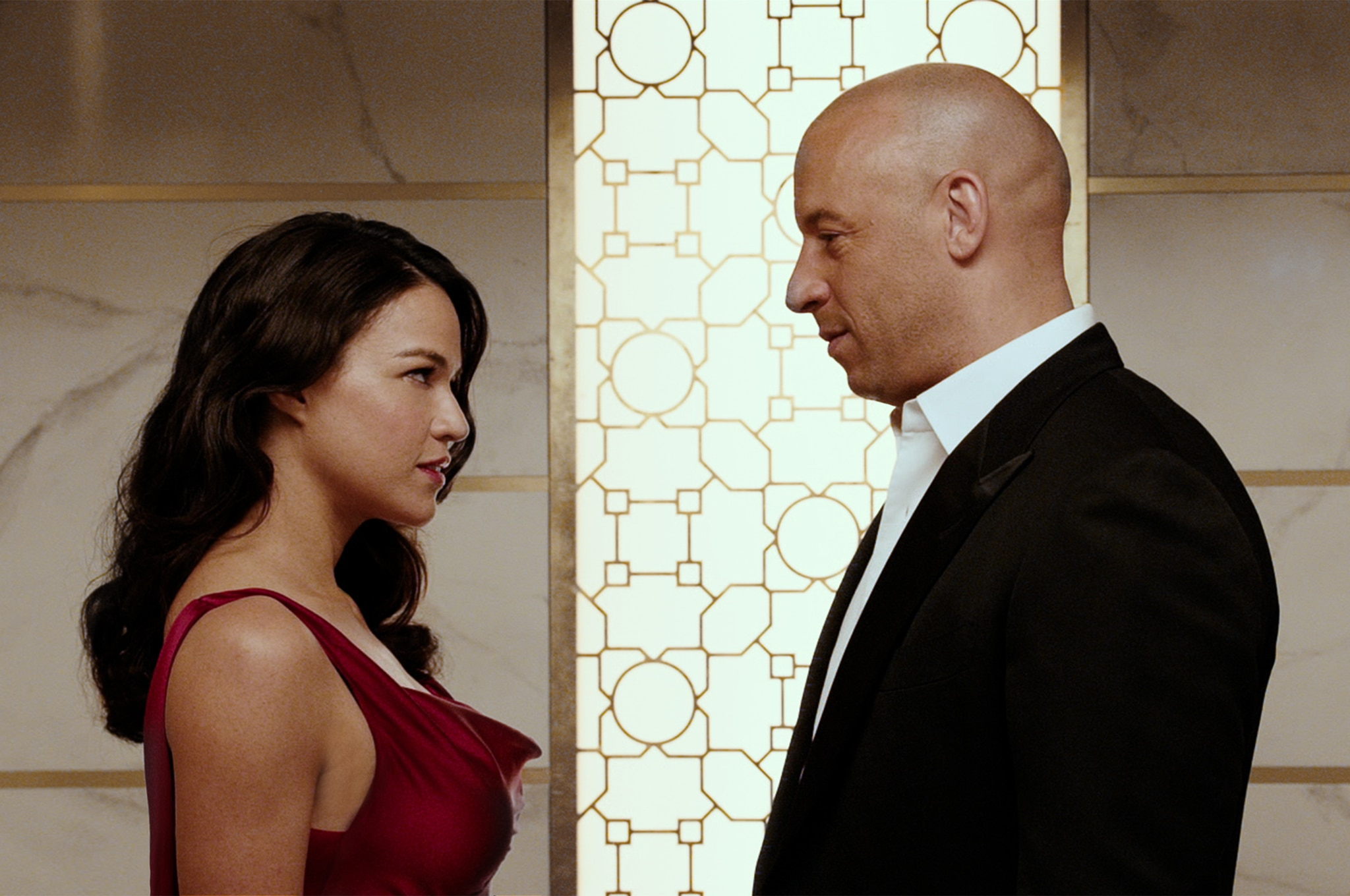 Furious 7 Michelle Rodriguez And Vin Diesel