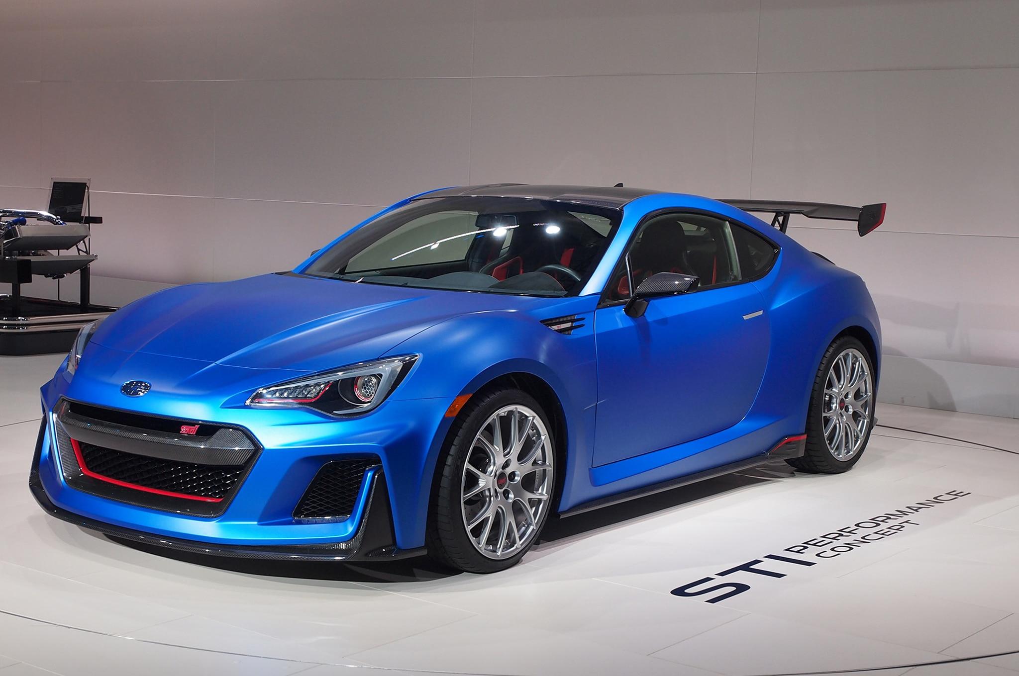 Subaru BRZ STI Concept Debuts at New York Auto Show