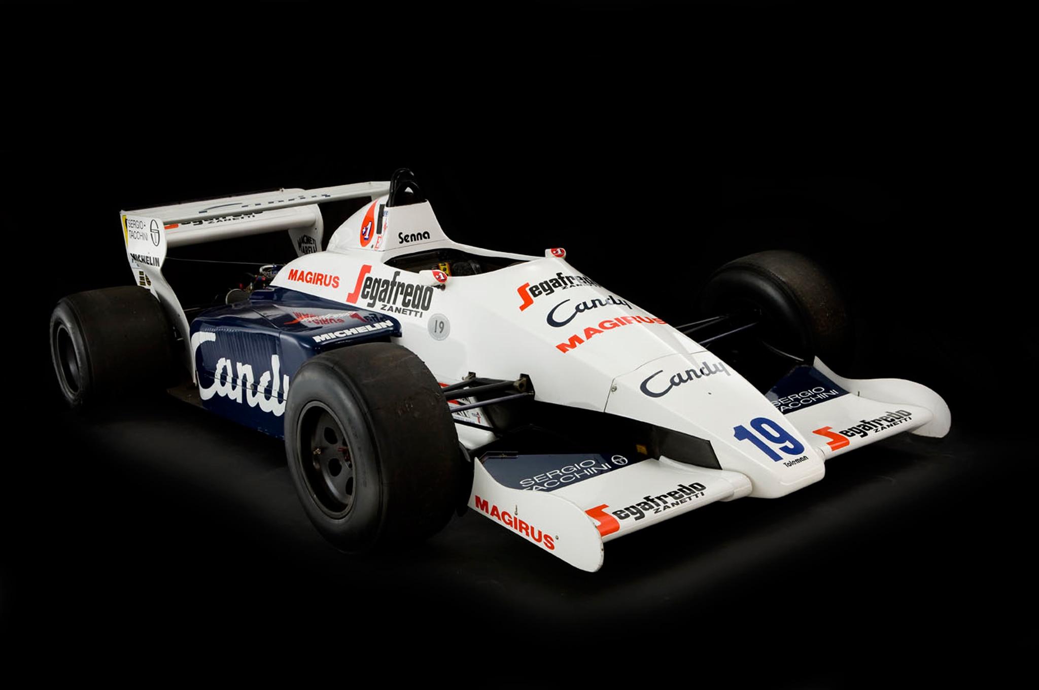 Toleman Hart TG184 2 F1 Race Car Studio Front 21