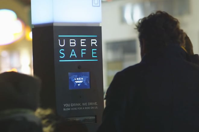 Uber Safe Kiosk Screen Shot