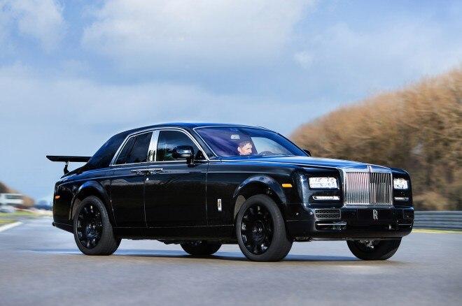Rolls-Royce Cullinan SUV prototype