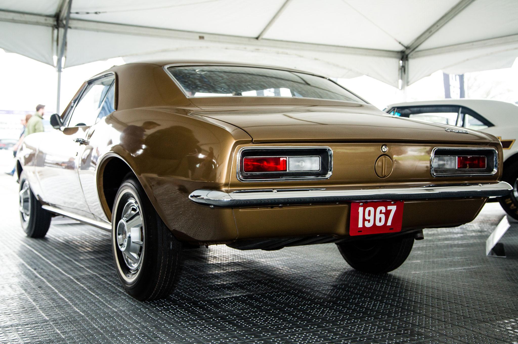 1967 Chevrolet Camaro VIN 1000001 2
