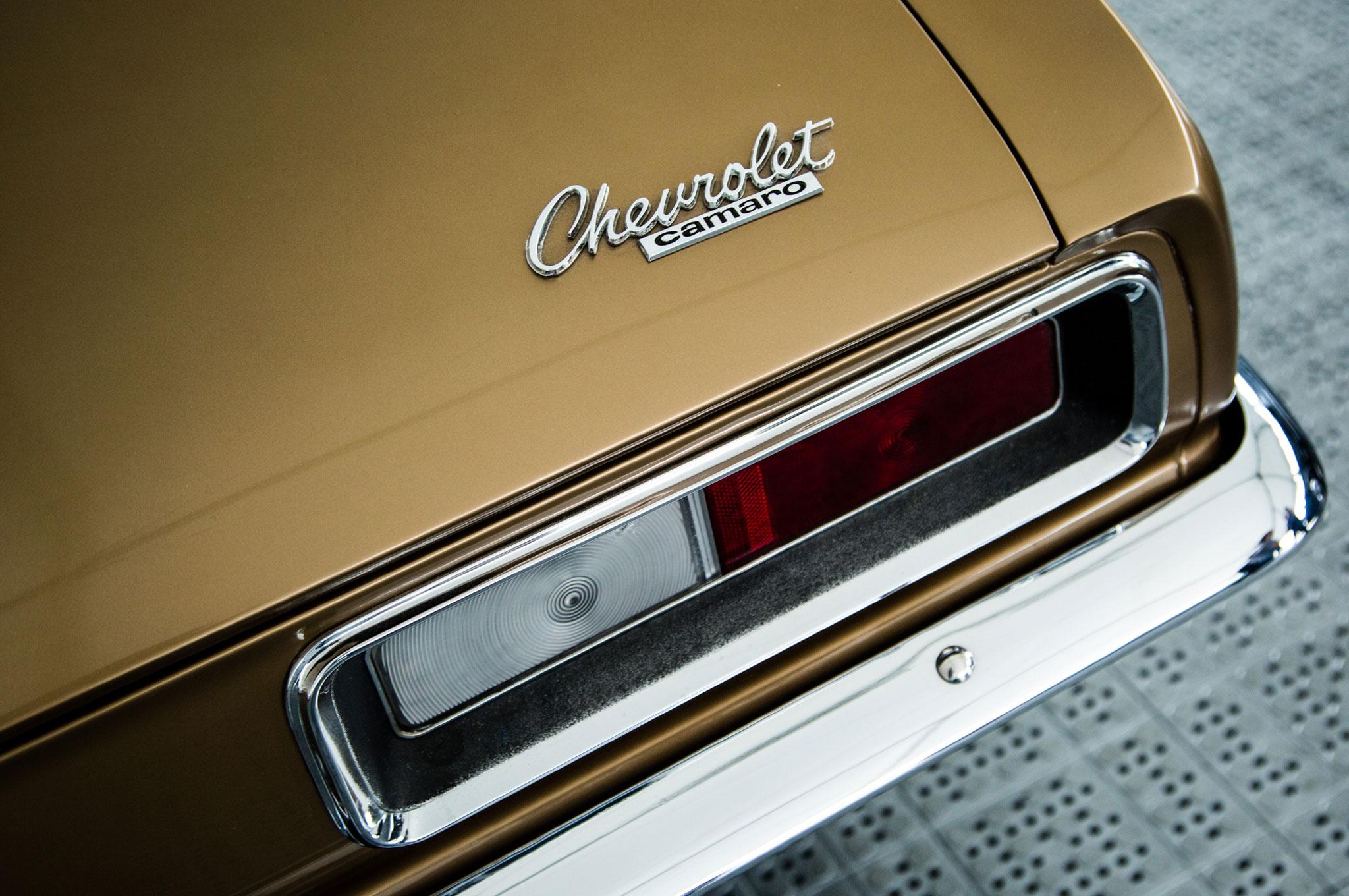 1967 Chevrolet Camaro VIN 1000001 3