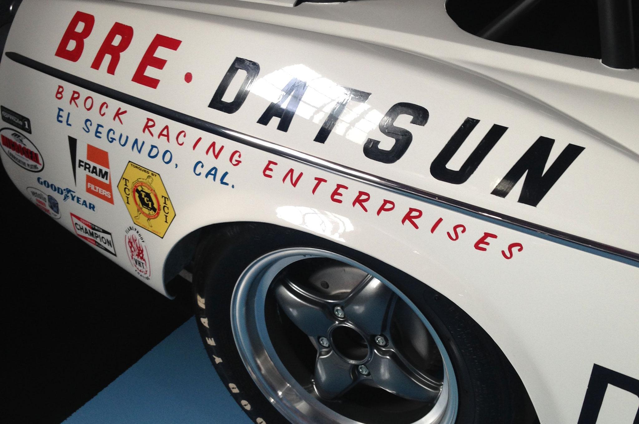 1969 BRE Datsun 2000 Roadster Fender