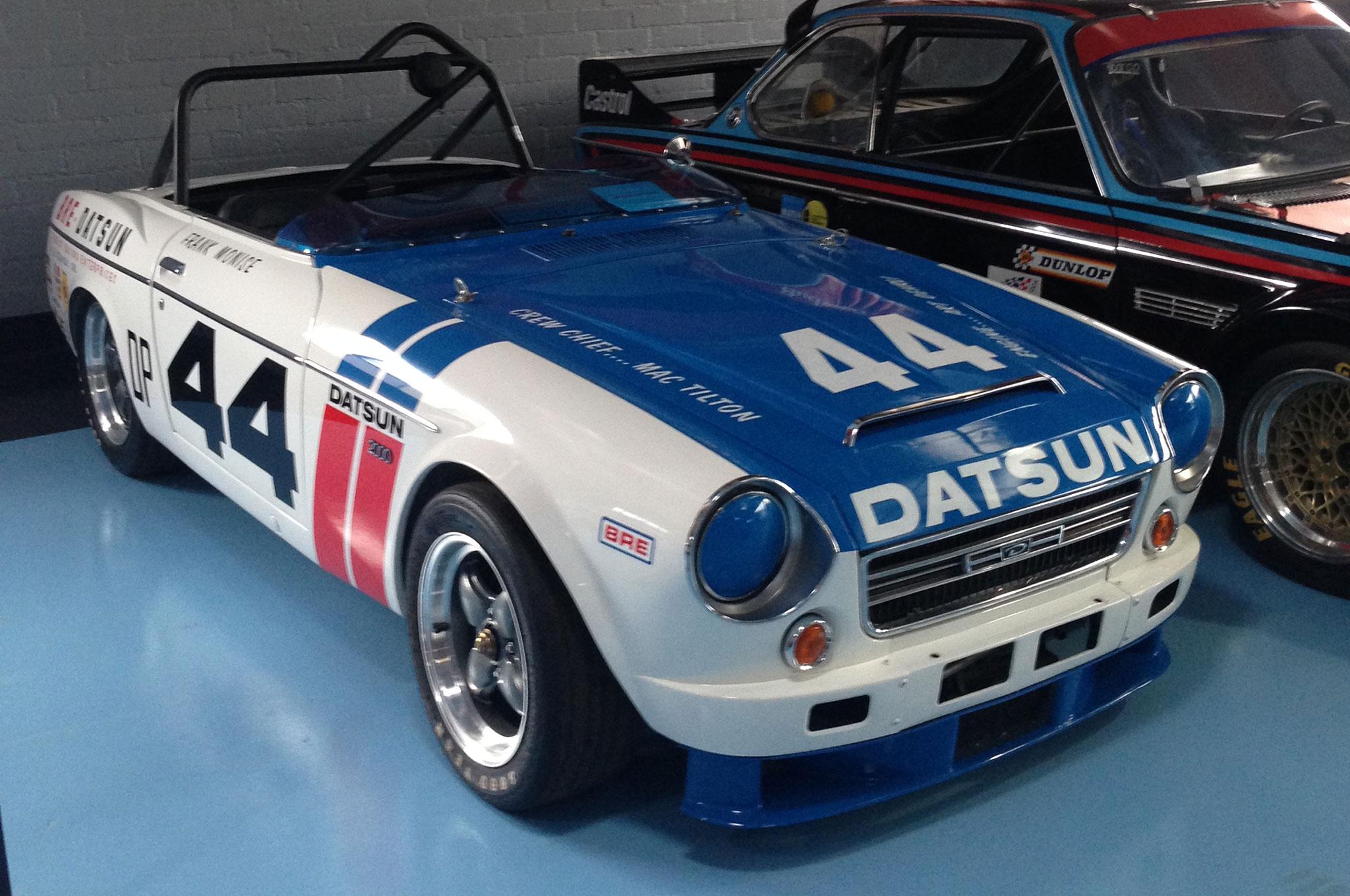 1969 BRE Datsun 2000 Roadster Front Three Quarter