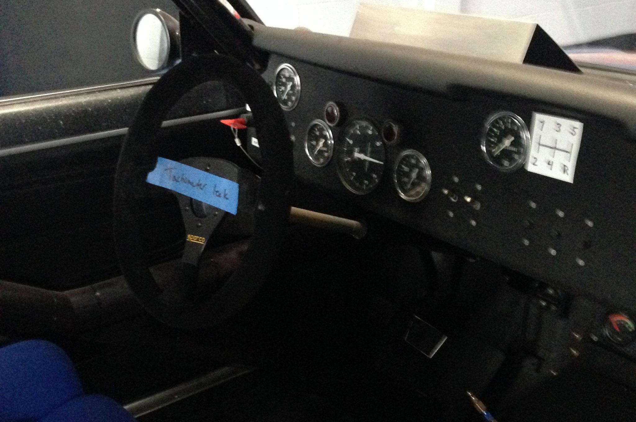 1971 BRE Datsun 510 Trans Am 25 Interior