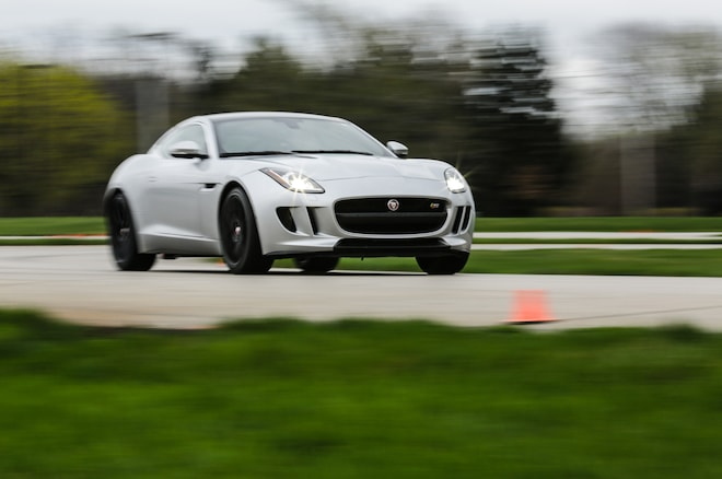 2015 Jaguar F Type S Coupe At Tire Rack 58
