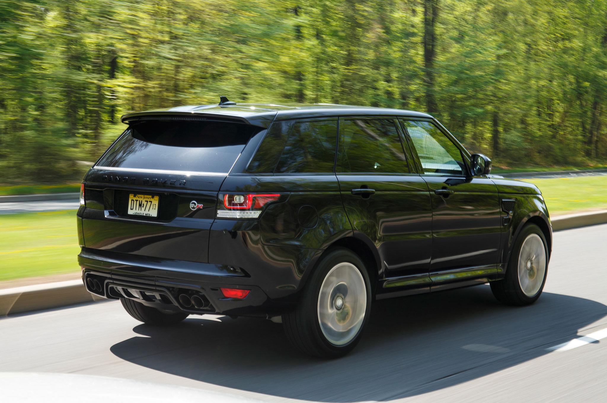 2015 Land Rover Range Rover Sport SVR Review | Automobile Magazine