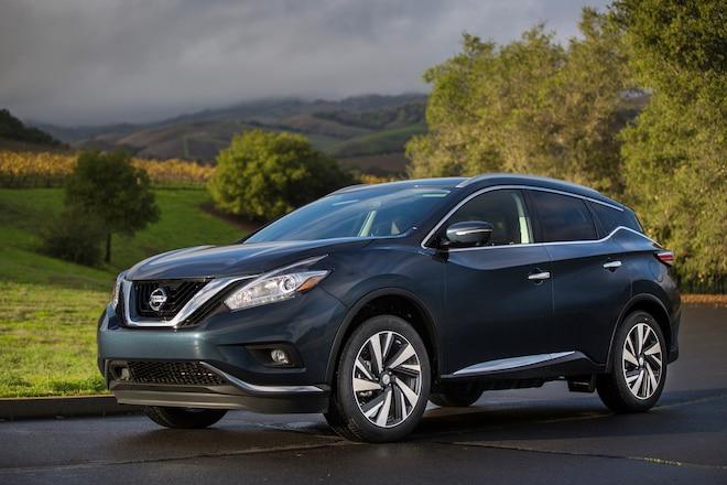 2015 Nissan Murano Front Three Quarters 04