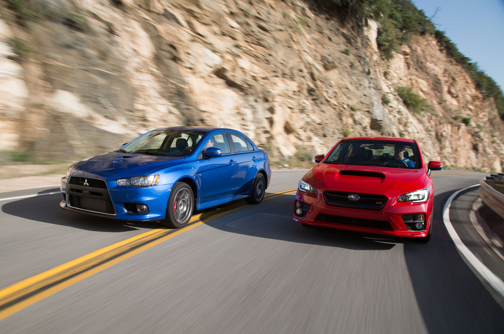 The End of a Rivalry: Mitsubishi Lancer Evolution MR and ...