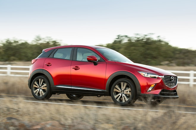 2016 Mazda CX 3 Front Three Quarter 02