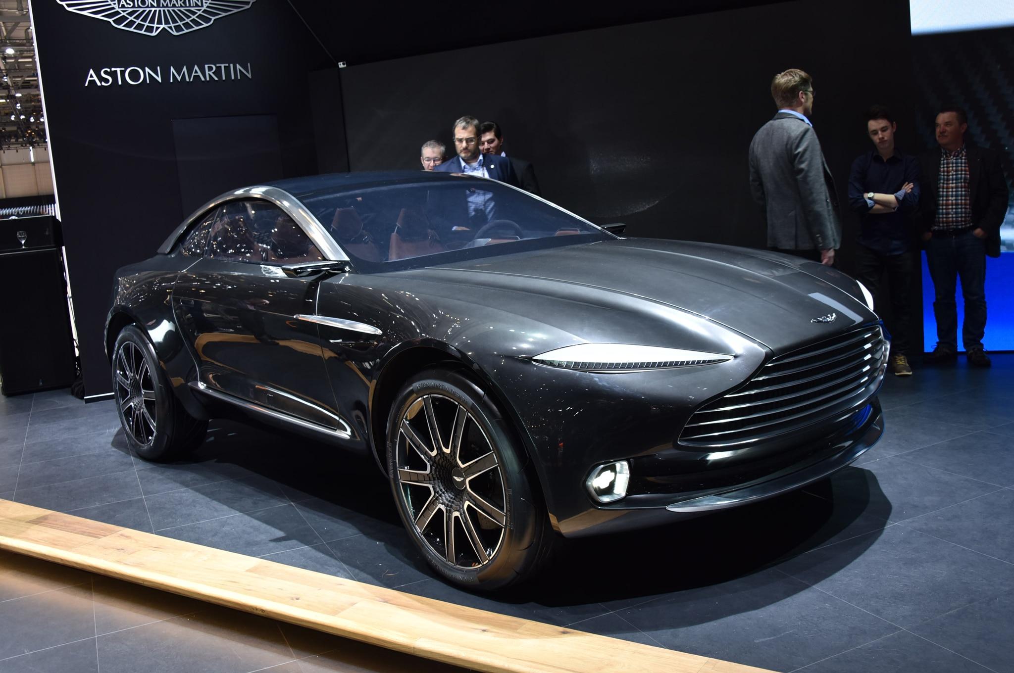 Aston Martin DBX Concept Front Three Quarter